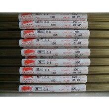 Ziyang Brass Electrode Tube Single Hole OD0.8*500mm  for EDM Drilling Machine