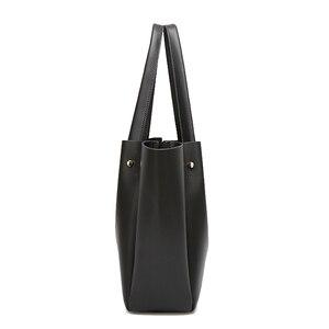 Image 3 - Tote bolsos mujer bolsas de couro crossbody para mulheres sling ombro shopper grande mão saco de 2019 bolsas de couro