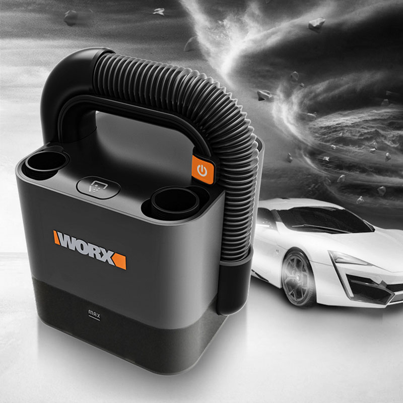 Livraison gratuite Worx 20V WX030 sans fil bâton aspirateur 10000Pa batterie légère Rechargeable deux vitesses Portable aspirateur