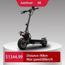 11 дюймов 60 в 3200 Вт Электрический скутер для взрослых 80 км/ч E скутер скейтборд сильный Мощный складной электрический велосипед KickScooter