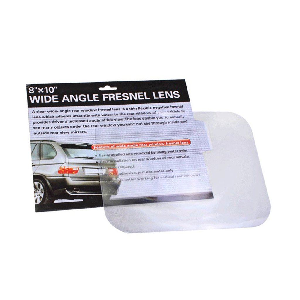 New Wide Angle Fresnel Lens Car Parking Reversing Sticker Useful Enlarge View Drop Ship