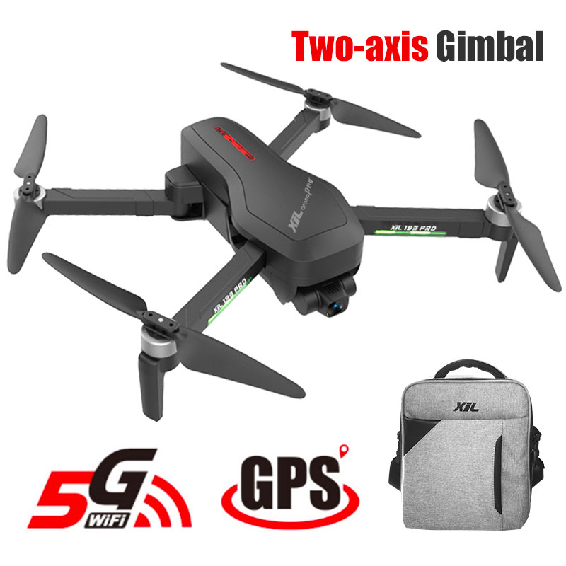 193 Pro Drone 4K GPS with Camera HD 2 axis Gimbal Brushless Profissional 800M Wifi 25Min s RC Dron 4k GPS Quadrocopter Optical
