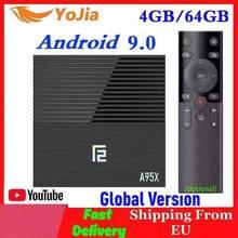 Vontar amlogic S905X3アンドロイド9.0 tvボックススマートメディアプレーヤー最大4ギガバイトのram 64ギガバイトromデュアル無線lan google店youtube