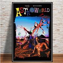 5D алмазная живопись горячая Трэвис Скотт репер Мода Музыка Звезда Астро мире алмаз картина DIY Алмаз вышивка домашнего декора