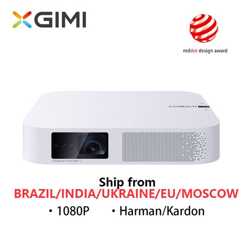 Xgimi z6 polar mini portátil inteligente cinema em casa 3d android 6.0 wi fi 1080 p hd cheio de projetores bluetooth