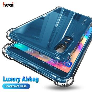 Перейти на Алиэкспресс и купить Противоударный чехол для Huawei P20 P30 P40 Pro P10 Mate 30 20 10 Lite Y5 Y6 Y7 Y9 Prime P Smart 2019 Honor 9 10 20 Pro 8X 9X Nova 3