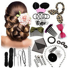 Hair Styling Tools Set for Women Curler Hair Clip Comb Barre
