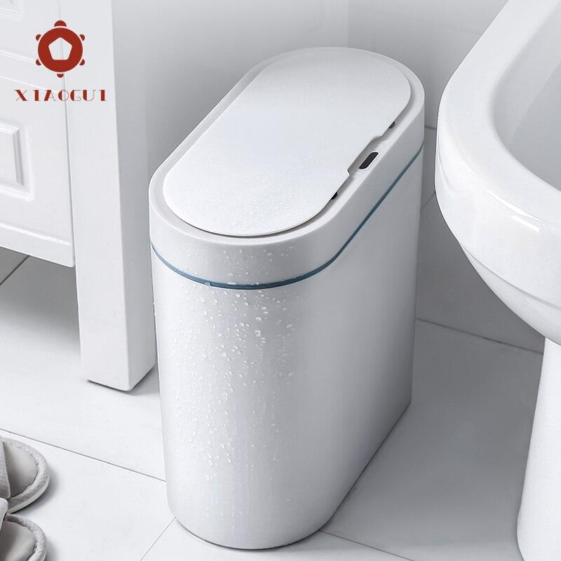 Xiaogui Trash-Can Toilet Smart-Sensor Bathroom Automatic Electronic Narrow Household