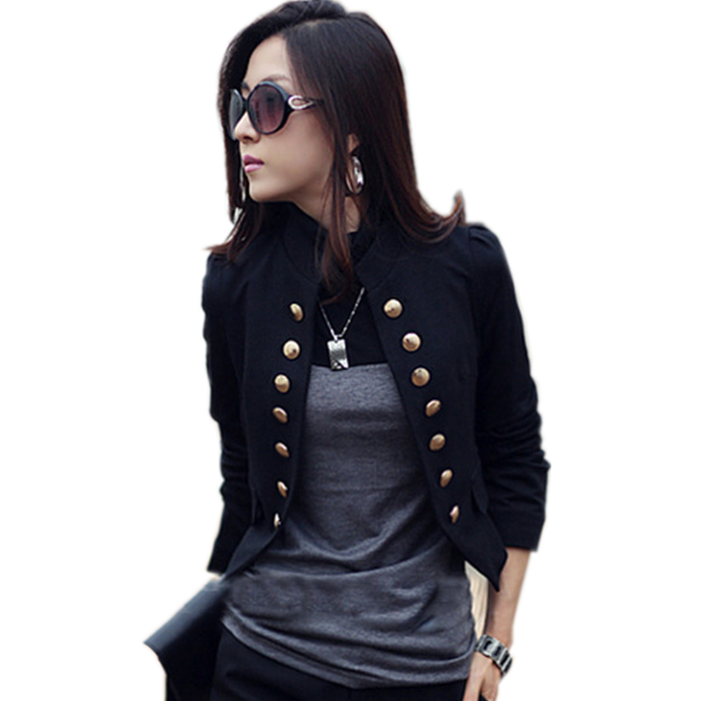 Double Breasted Jacket Women 2020 Spring OL Short Blazer