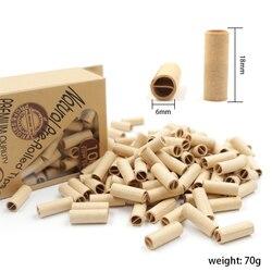 Um bloco de papel comum pré-laminado não refinado 70mm rolamento filtro dicas