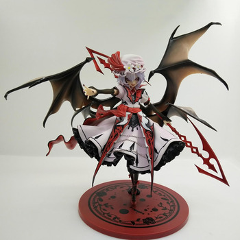 22cm TouHou Project Scarlet Devil ACGN Action Figure The Embodiment of Scarlet Devil Remilia Scarlet PVC Collection Toys Gift фото
