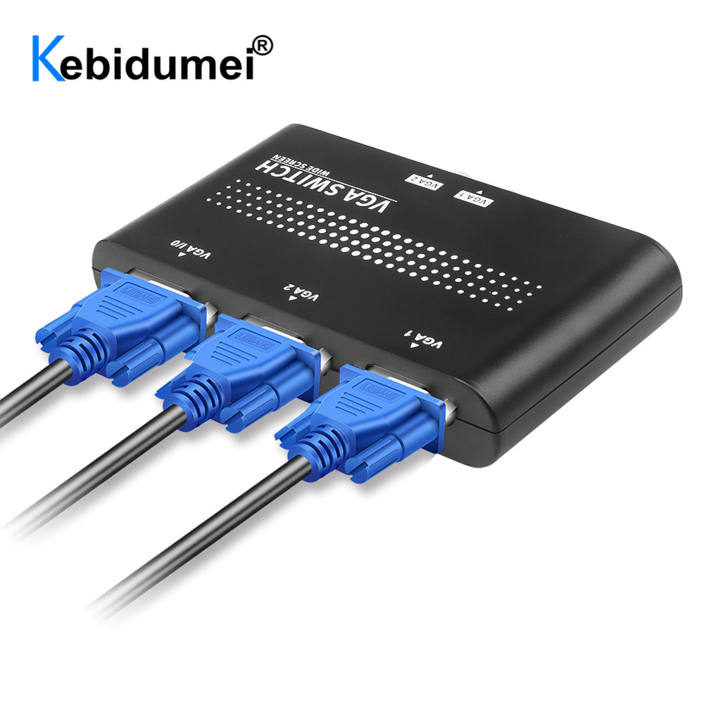 Metal LCD TV Manual with Cable KVM Accessories Video Sharing Box ...
