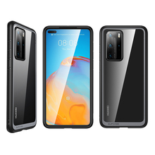 SUPCASE For Huawei P40 Pro Case (2020 Release) UB Style Slim Anti knock Premium Hybrid Protective TPU Bumper + PC Clear Cover