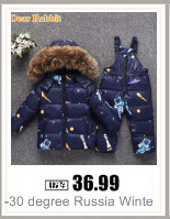 H976e5f45bff6433d923fcce15e71ec82I 2019 New Russia Baby costume rompers Clothes cold Winter Boy Girl Garment Thicken Warm Comfortable Pure Cotton coat jacket kids