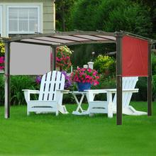 5.2*2m Awning Sun Shade Canopys Cover Sturdy Durable Replacement Awning for Pergola Structures Cover Only No Shelves FBS