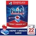 Spülmaschine Waschmittel 22 Tablet Finish Alle In Einem