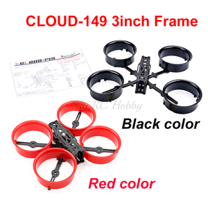 CLOUD-149 149 149mm 3 Inch Frame Kit X-type ABS Carbon Fiber CLOUD 149 for RC Drone FPV RC Racing Drone(China)