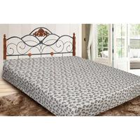 Bedspread double АльВиТек, Comfort, 180*210 cm, white, with pattern