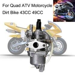 Engine Carb Carburetor 2 Stroke Mini Quad ATV Dirt Bike MiniMoto Go Kart Buggy NEW Pocket Bike 47cc 49cc