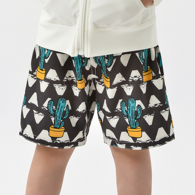 Kids' Beach Shorts Cartoon Pattern Short Loose-Fit Casual Shorts Men And Women Big Boy Holiday Outing AussieBum