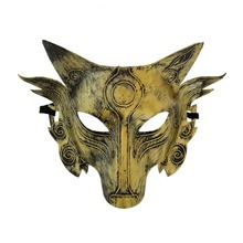 For Halloween Party Wolf Head Mask Carnaval Masquerade Cosplay Bar Performances Decorations цена 2017