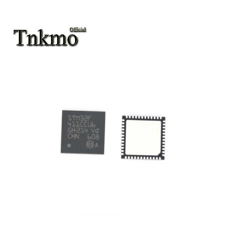 5 Pcs STM32F411CEU6 QFN-48 STM32F411 QFN48 32F411CEU6 Tertanam Mikrokontroler Chip Baru dan Asli
