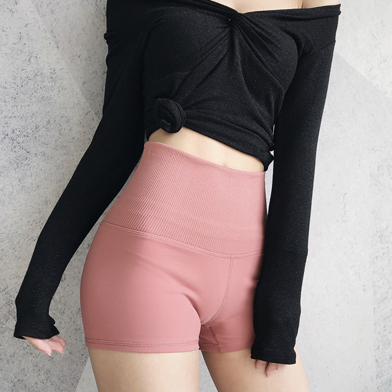 2019 Hot Elastic Boyleg Body Shaper Shorts Straps Fat Burning Shorts High Waist For Running Fitness CGU 88