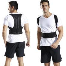 Shoulder Back Support Corrector Belt Elastic Braces Spine