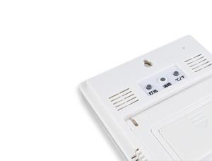 Image 3 - מקורה LCD דקות שעון טמפרטורת לחות מד מדחום הדיגיטלי LCD thermo מדדי לחות