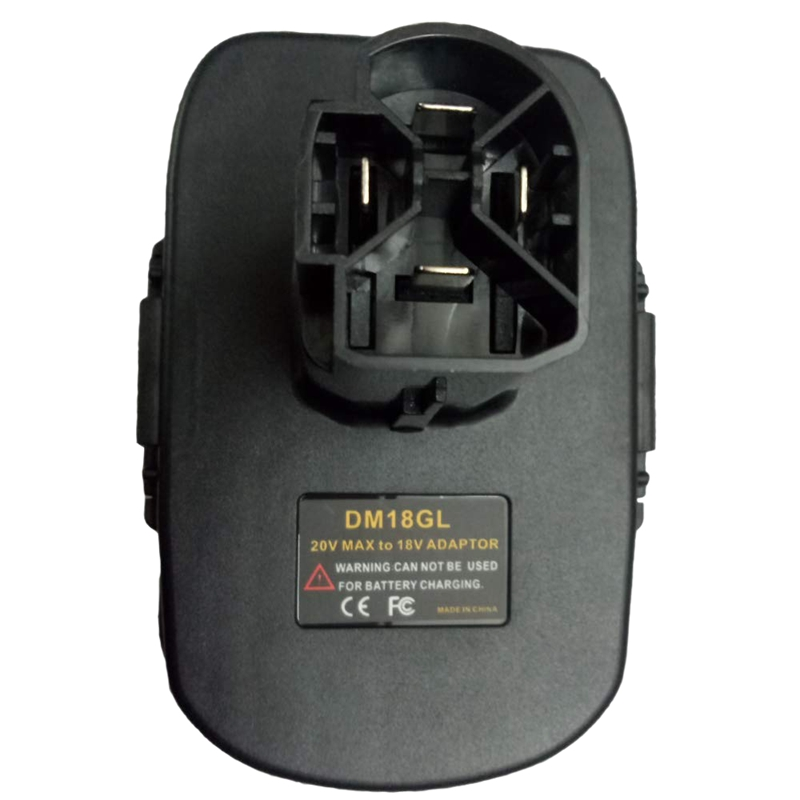 Dm18Gl Battery <font><b>Adapter</b></font> For Milwaukee <font><b>18V</b></font> And For <font><b>Dewalt</b></font> 20V Lithium Battery For Craftsman 19.2 Nickel Volt Battery image