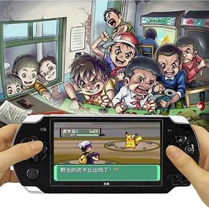 Image 5 - חדש וידאו קונסולת משחקי 4.3 אינץ מובנה 8GB עבור MP4 וידאו/MP5/מצלמה/ספר אלקטרוני נייד כף יד רטרו משחק נגן