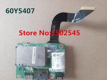 Dla Lenovo Thinkpad X200 X200S X201 X201S X201I oryginalny Laptop płyta USB audio pokładzie karty dźwiękowej z kablem 04W1867 tanie i dobre opinie metoopan Kabel USB Do GNIAZDA DC USB BOARD CN (pochodzenie)