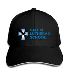 Boné de beisebol masculino salem lutheran escola credenciada pela associação ocidental de escolas snapback chapéu feminino pico