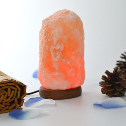 Christmas Lights Crystal Salt Lamp USB Seven-color Creative Night Lamp Discolored Stone Table Lamp Indoor Fairy Lights