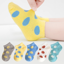 5 Pair Cotton Toddler Boys For Girl Socks Summer New Born Baby Children Socks Short Sock Girls Boy Socks Kids Socks 0-10 T 5pairls lot boys girls pure white socks for children baby cotton soft kids socks loose comfortable toddler black white socks