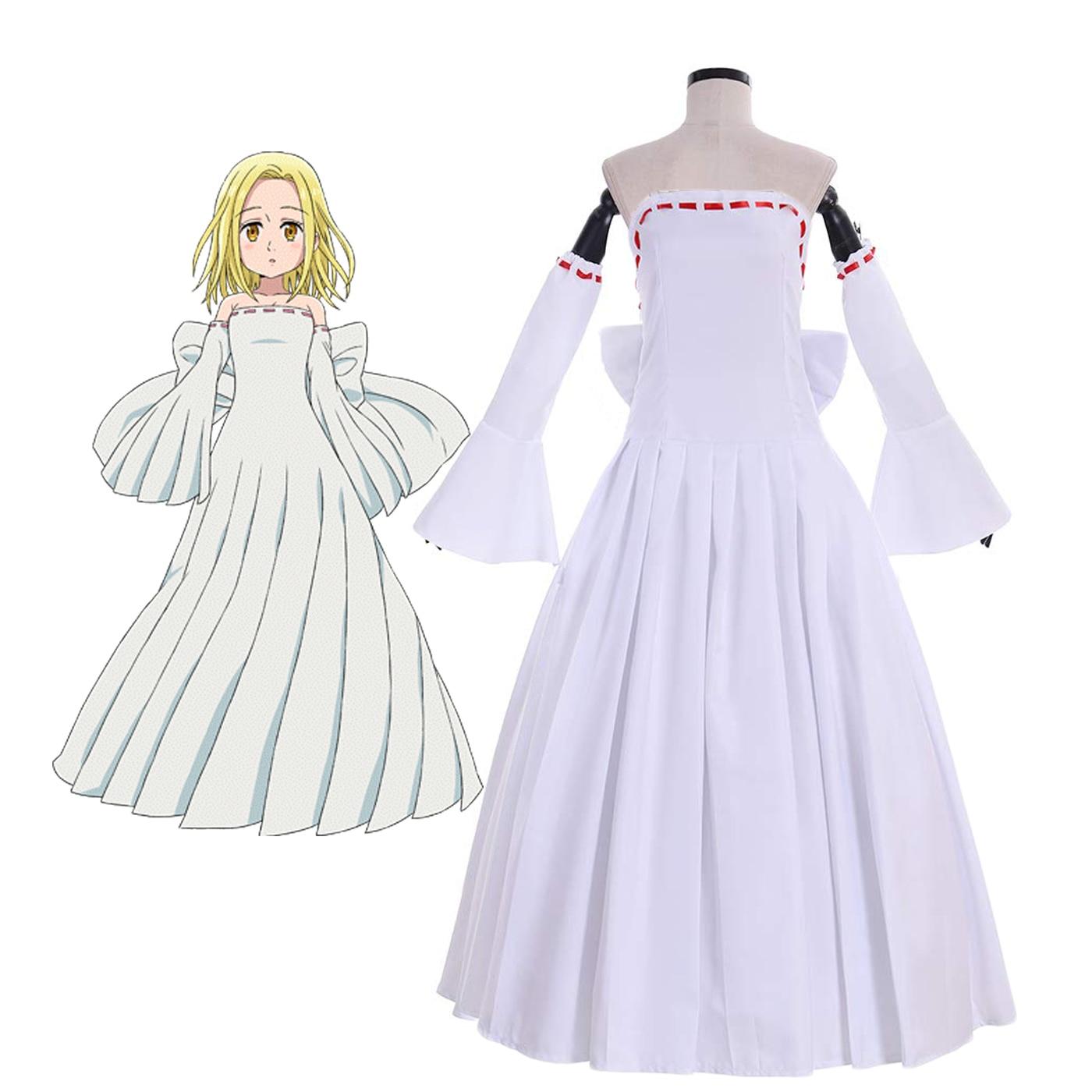The Seven Deadly Sins Elaine Dress Cosplay Costume Nanatsu No Taizai Elaine Cosplay Costume Custom Made