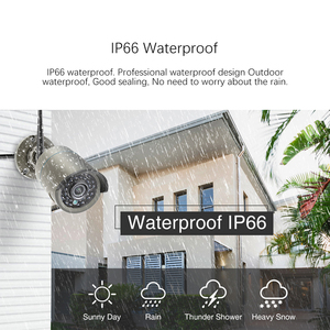 "Image 4 - Techage 8CH 1080P Wireless Security Camera System 12"" LCD NVR 2MP IR Outdoor Waterproof CCTV Wifi Camera Video Surveillance Set"