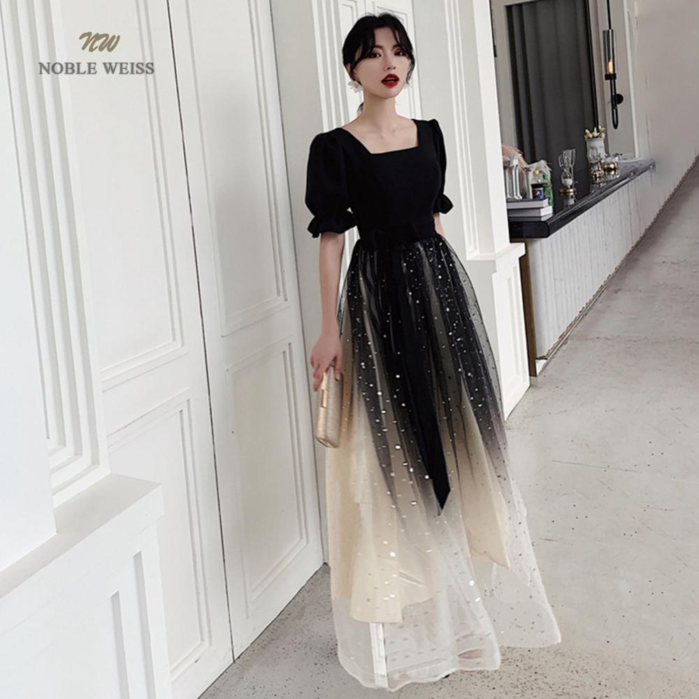 Prom Dresses Sexy A-line Tulle Prom Dress Zipper Back Cheap Prom Gown Robe De Soiree Party Dress