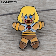 цена на K1167 Man and the Masters of the Universe  Pins Enamel Pins and Brooches for Women Lapel Pin Backpack Bags Badge Gifts