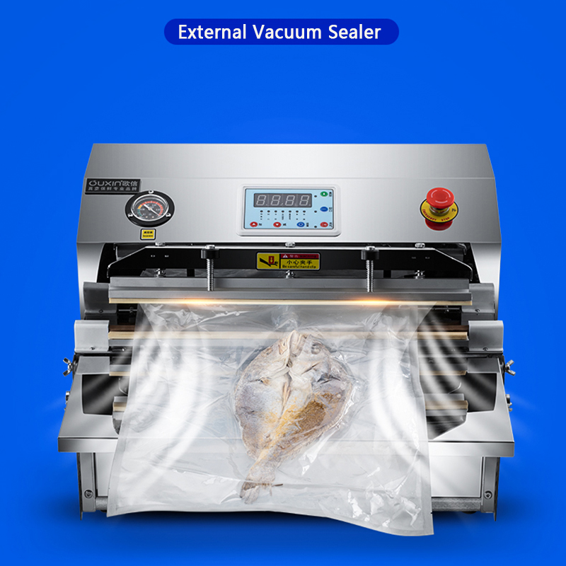 Automatic Vacuum Sealing Machine Outside Vacuum Machine Packaging Machine Commercial Food Large Household Packaging Machine title=