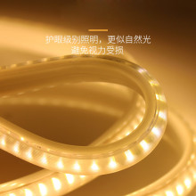 100m/lot AC 220V LED Strip Light SMD 3036 10W/m Outdoor Waterproof LED Tape Flexible 144LEDS 3000K 4000K 6000K(China)