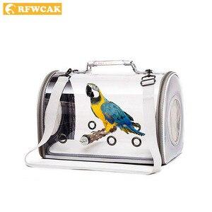 RFWCAK Transparent Pet Parrot