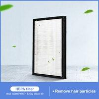 Peças do purificador de ar do filtro de hepa de 250x185x40mm para o satélite ventmachine