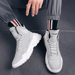 2019 Mens Shoes Casual Slip On Breathable Hot Sale Air Cushion Keep warm Sneakers Men Shoes Spring Shoes Outdoor Flats Shoes 6