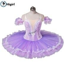 Professional  Purple ballet tutu costume adult Ballerina Competition Ballet Stage Costum nutcracker BT8964C