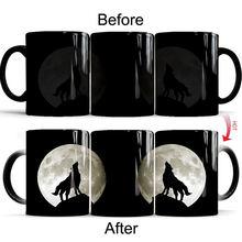 2020 милый кот» «волк» «Тигр» Женская коричневая термокомпрессор