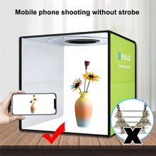Gấp Gọn Lightbox Di Động Hình Hộp Studio Chụp Ảnh Softbox Với 6 Phông Nền Chụp Hình Bộ Dụng Cụ Dùng Cho Máy Ảnh DSLR Hộp Đựng Đèn Photobox