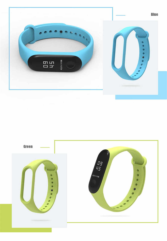 Siliconen Polsband + Zachte Film Voor Xiao Mi Mi Band 4 3 Sport Horloge Armband 3D Volledige Cover Screen protector Licht Horloge Gespen