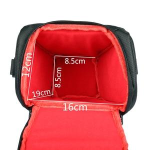 Image 5 - Сумка для камеры, наплечный чехол для Sony Alpha A6500 A6300, сумка для камеры, чехол для Canon EOS M50 M6 DSLR, чехол для объектива Nikon D3200 D3400