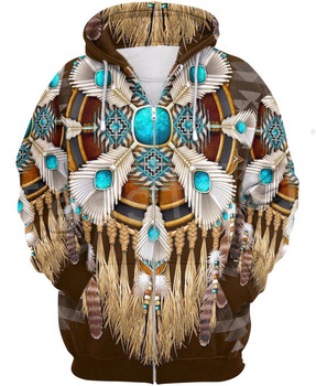Tessffel Indian Native culture Harajuku Casual Colorful Tracksuit New Fashion 3DPrint Unisex Hoodie/Hoodies/Zipper Men Women s-3 2